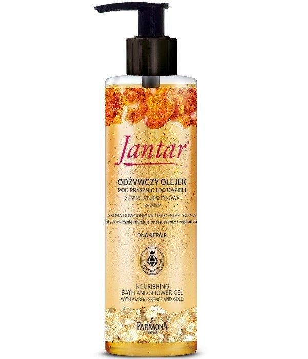 Farmona Jantar DNA Repair Olejek pod prysznic i do kąpieli odżywczy ze złotem 400ml