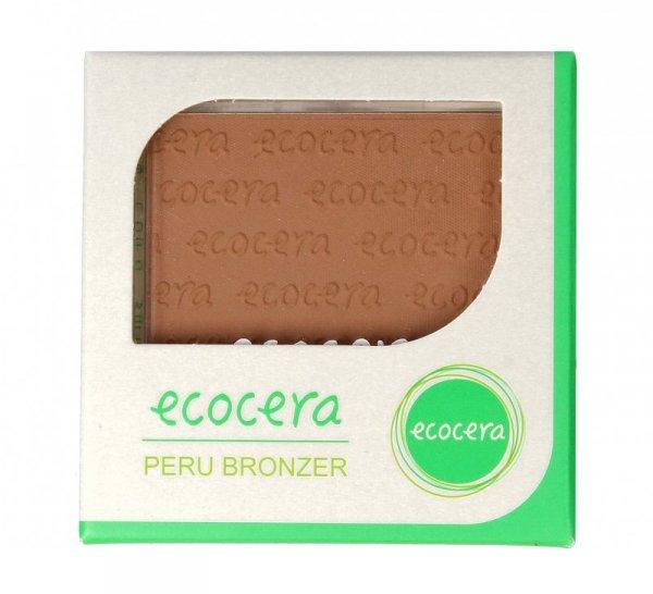 ECOCERA Puder brązujący Peru - matowy  10g