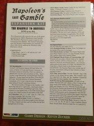 Napoleon's Last Gamble Expansion Kit