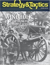 Strategy & Tactics #313 Windhoek Southwest Africa 1914-15