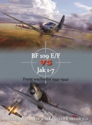 BF 109 E/F vs Jak 1-7 Front wschodni 1941-1942