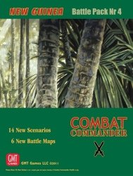 Combat Commander Battle Pack #4: New Guinea Reprint