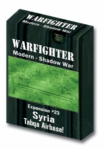 Warfighter Modern Shadow War- Expansion #23 Syria Tabqa Airbase
