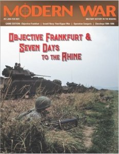 Modern War #51 Objective Frankfurt