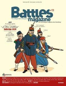 (UŻYWANA) Battles Magazine #13 A Sheer Butchery: Solferino 1859