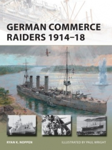 NEW VANGUARD 228 German Commerce Raiders 1914–18