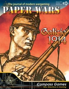 Paper Wars #97 Battle for Galicia, 1914
