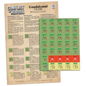Conflict of Heroes: Guadalcanal Army Exp