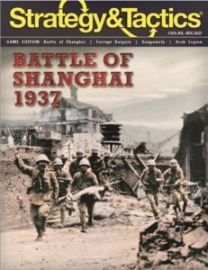 Strategy & Tactics #329 The Shanghai-Nanking Campaign 1937