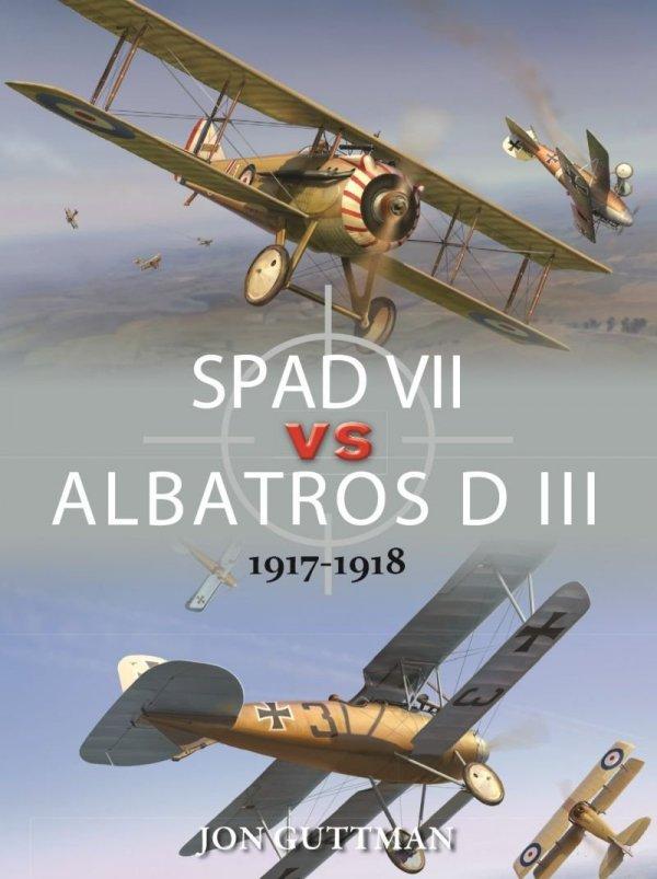 SPAD VII vs ALBATROS D III 1917-1918
