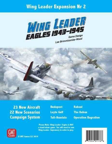 Wing Leader Eagles Expansion for WL Supremacy
