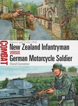 COMBAT 23 New Zealand Infantryman vs German Motorcycle Soldier
