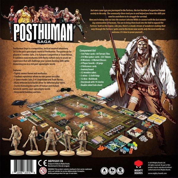 Posthuman Saga: Core Game