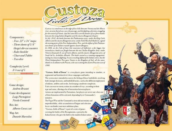 Custoza, Fields of Doom