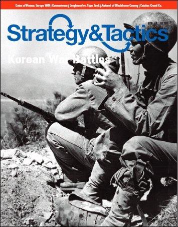 Strategy & Tactics #296 Korean War Battles