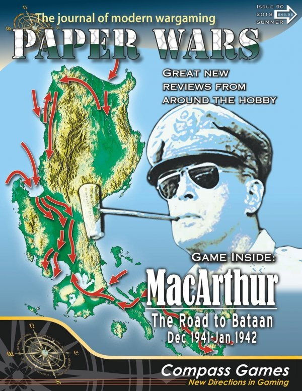 Paper Wars #90 MacArthur: The Road to Bataan (uszkodzony)