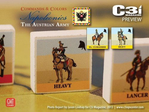 Commands & Colors: Napoleonics Exp.3 Austrian Army 3rd Printing
