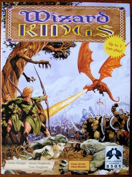 Wizard Kings 2nd Ed. (Base Game)