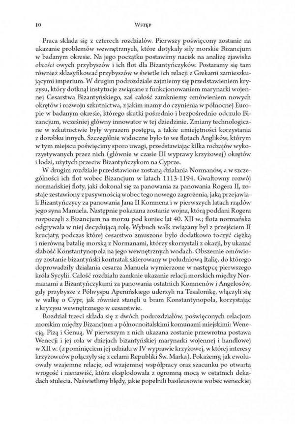 Rola flot obcych w procesie ostatecznego rozkładu sił morskich CesarstwaBizantyńskiego (1118-1204)