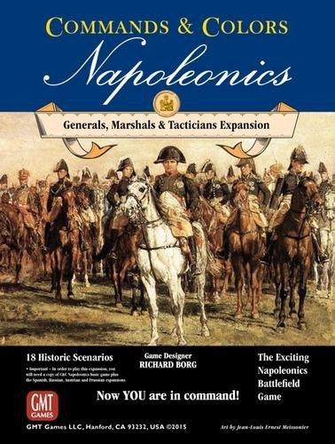 Commands & Colors - Napoleonics Exp. #5 Generals, Marshals & Tacticians