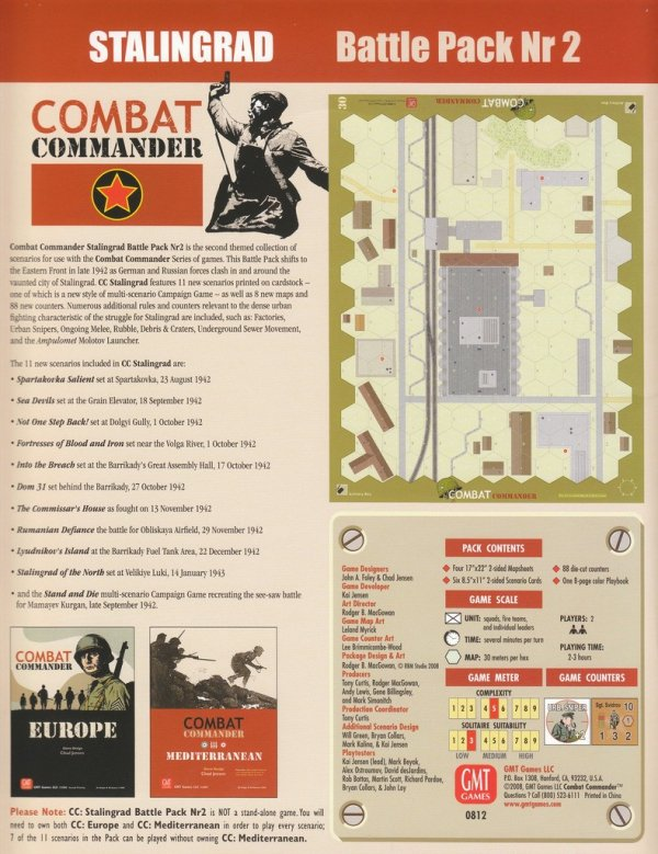 Combat Commander Battle Pack #2: Stalingrad