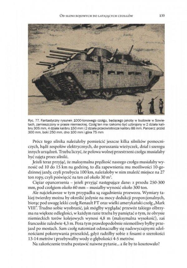 Od słoni bojowych do latających czołgów