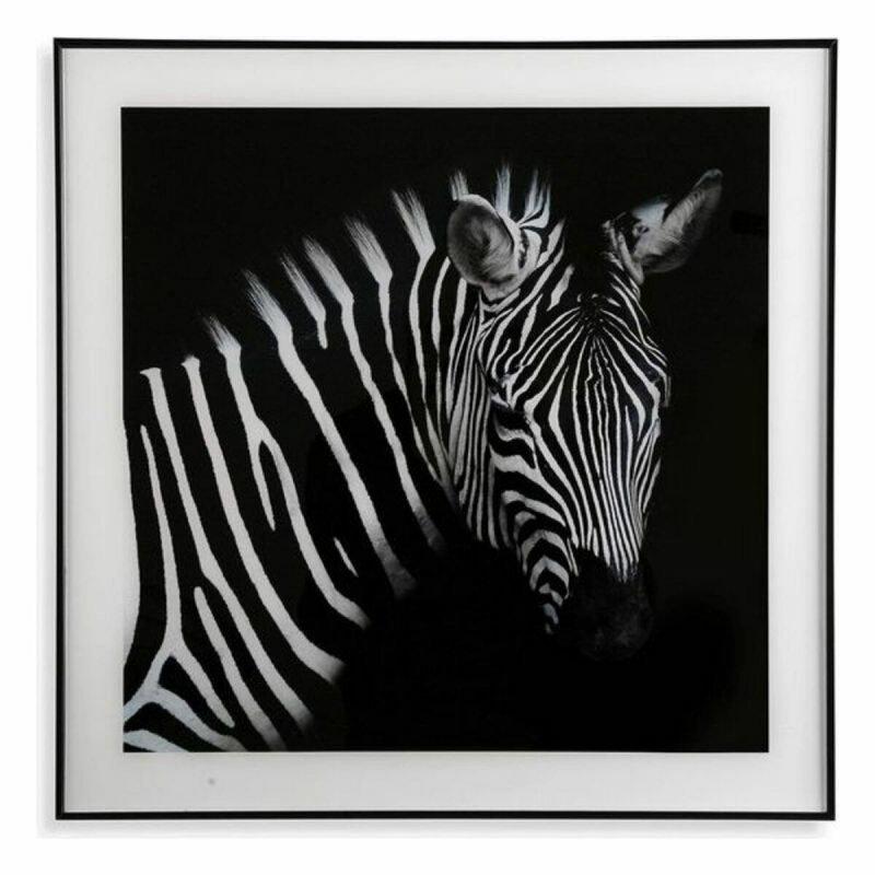 Obraz Zebra Szkło (2 x 50 x 50 cm)
