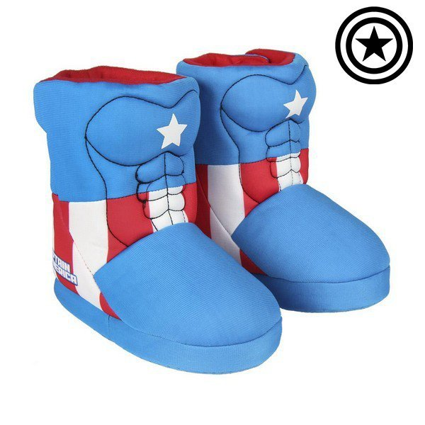 Pantofle Dla Dzieci The Avengers Niebieski