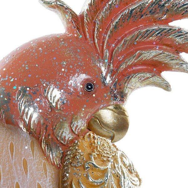 Figurka Dekoracyjna DKD Home Decor Vták Żywica (13 x 9 x 31 cm)