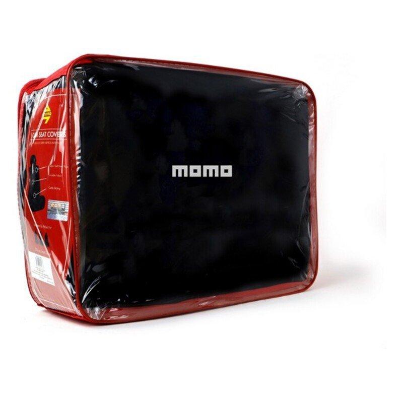Pokrowiec na siedzenie Momo 010 (11 pcs) Czarny
