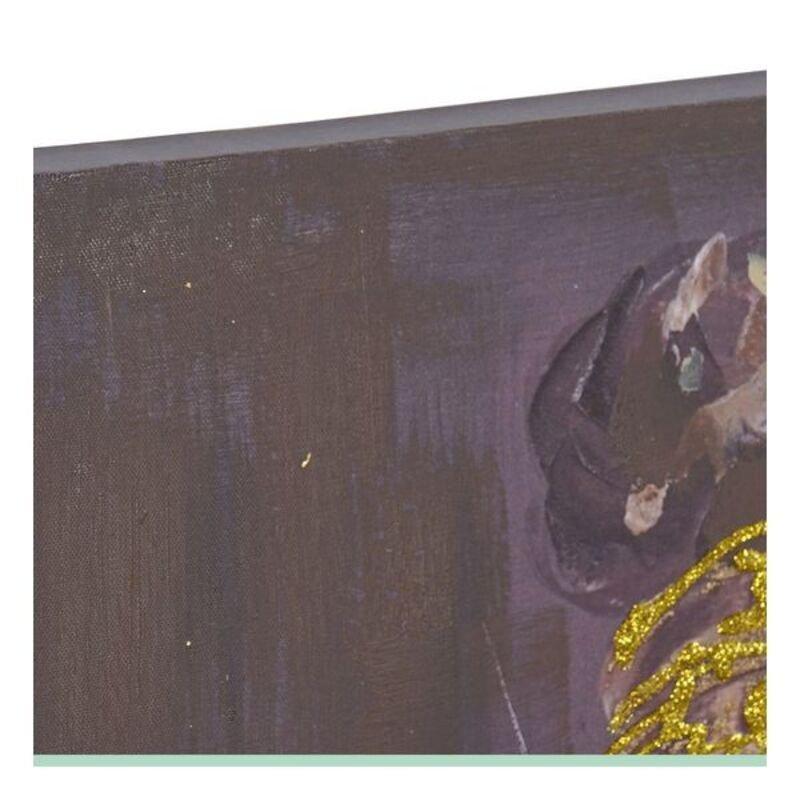 Obraz DKD Home Decor Kobieta etniczna Wielokolorowy (2 pcs) (55 x 3 x 135 cm)