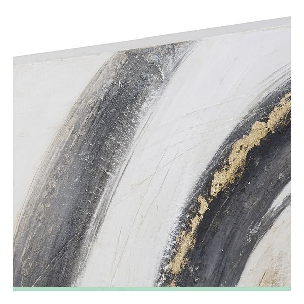 Obraz DKD Home Decor Abstrakcyjny Sosna Płótno (2 pcs) (100 x 3 x 100 cm)