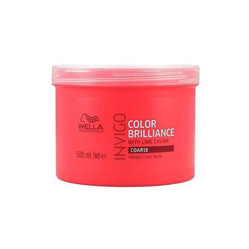 Maska do Włosów Invigo Color Brilliance Wella Gęste włosy (500 ml)