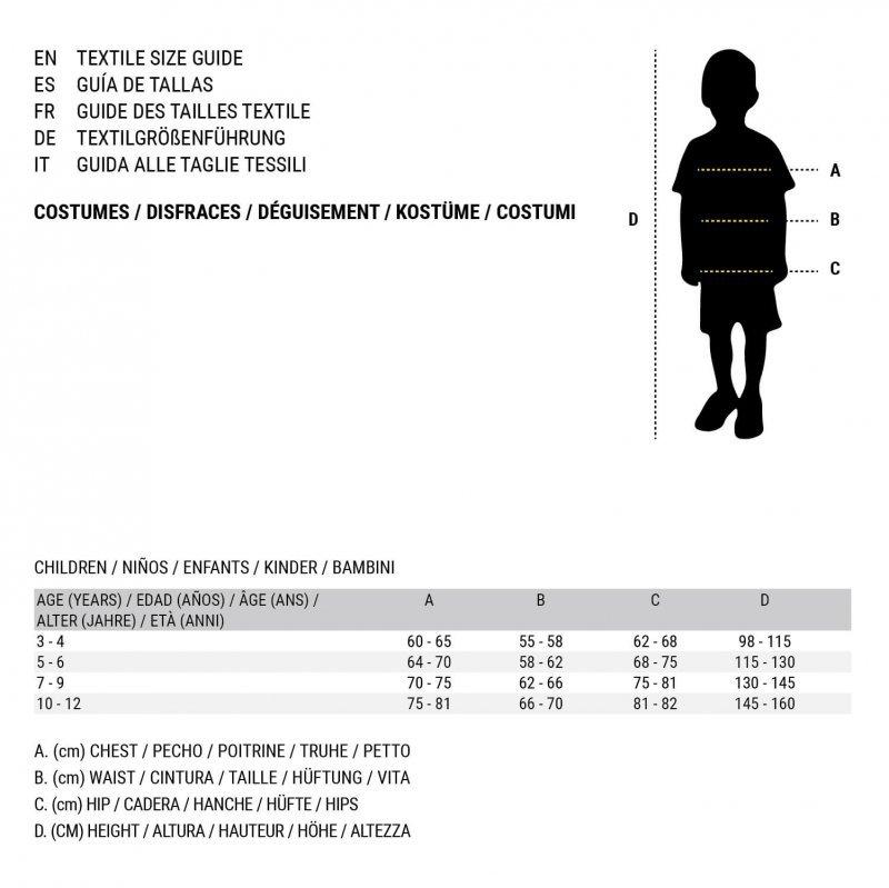 Kostium dla Dorosłych Punk