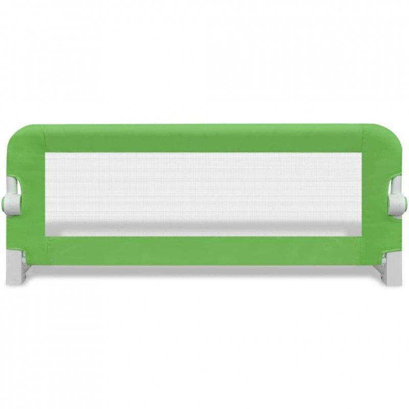 Barierka ochronna do łóżka, 102 x 42 cm, zielona