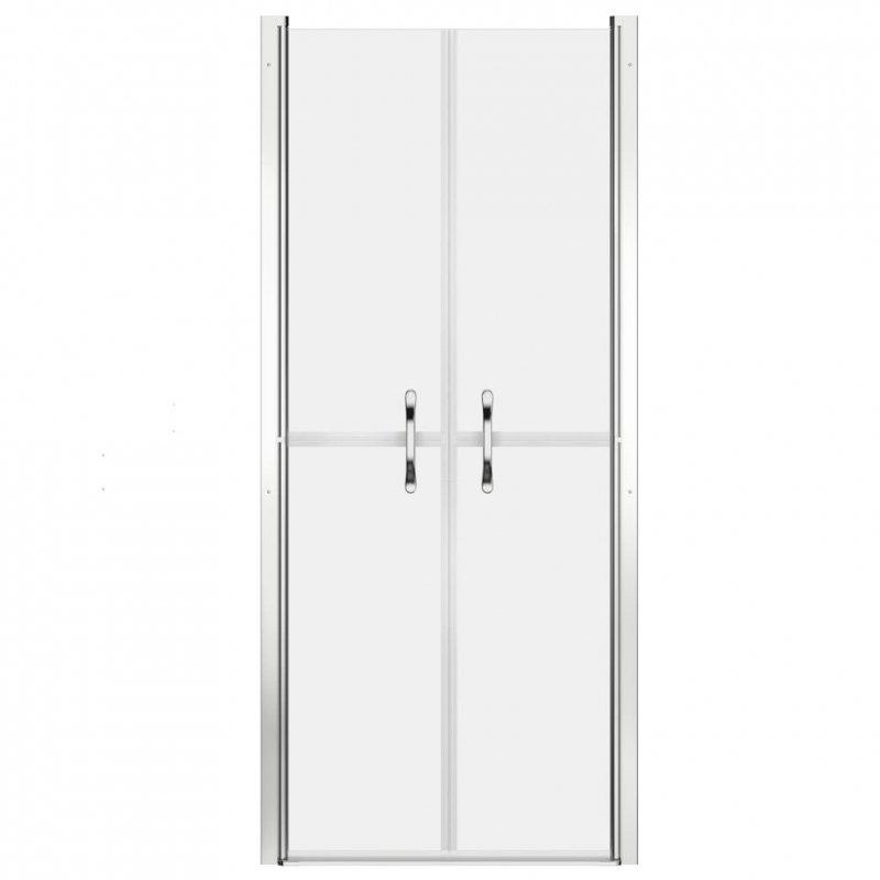 Drzwi prysznicowe, szkło mrożone, ESG, 86x190 cm