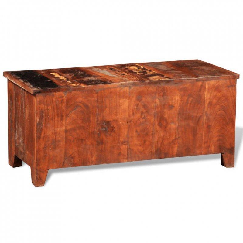 Szafka TV/szafka boczna, lite drewno z odzysku