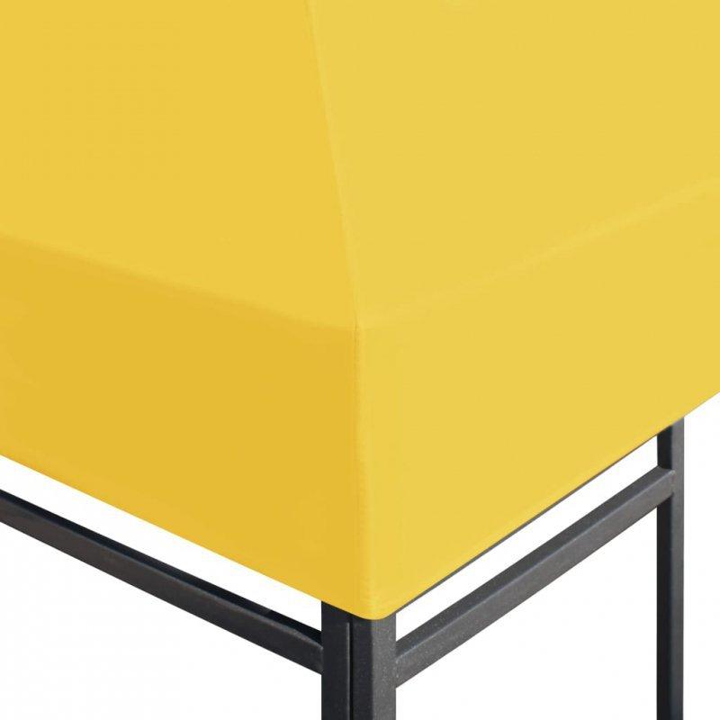 Zadaszenie altany ogrodowej, 270 g/m², 4x3 m, żółte