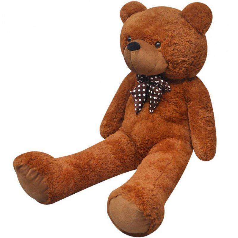 Pluszowy miś przytulanka, brązowy, 170 cm