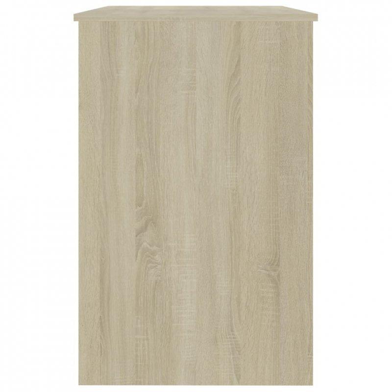 Biurko, dąb sonoma, 100x50x76 cm, płyta wiórowa