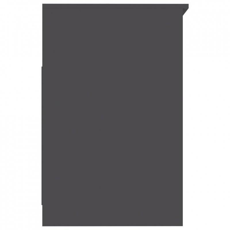 Komoda, szara, 40x50x76 cm, płyta wiórowa