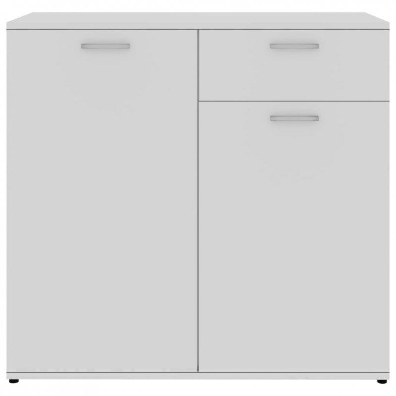 Szafka, biała, 80x36x75 cm, płyta wiórowa