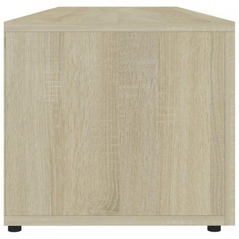 Szafka pod TV, dąb sonoma, 120x34x30 cm, płyta wiórowa