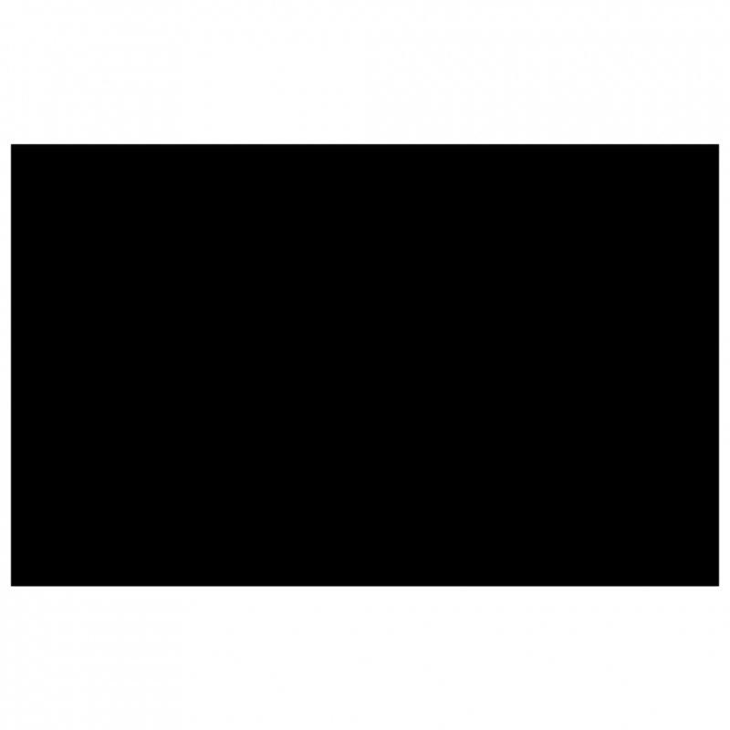 Prostokątna folia na basen, czarna (8x5 m)