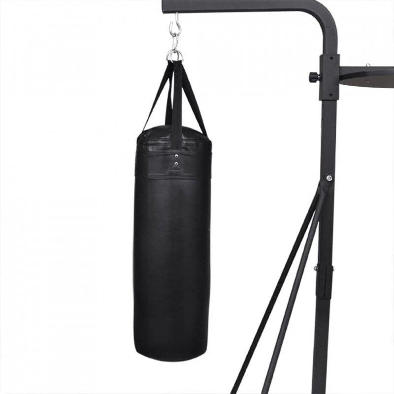 Dwustronny stojak bokserski z workiem i gruszką