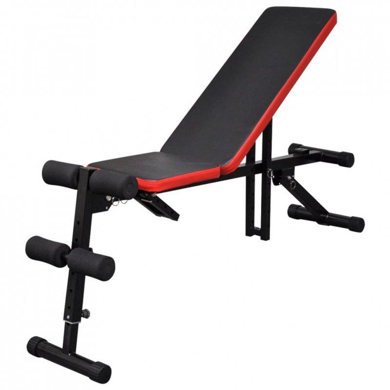 Regulowana ławeczka do ćwiczeń