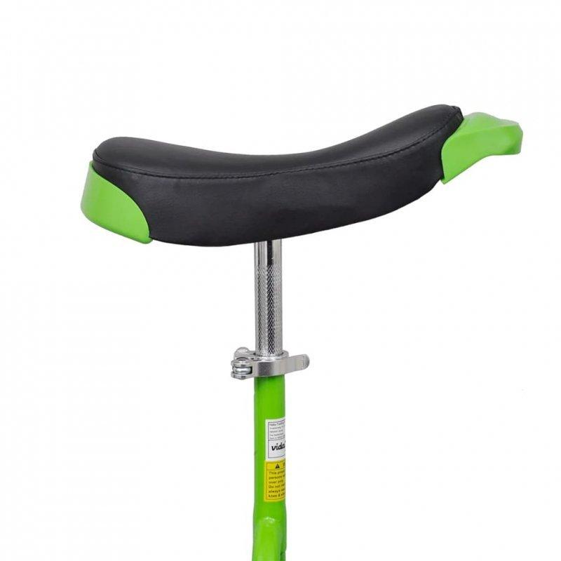 Zielony unicykl, 20 cali