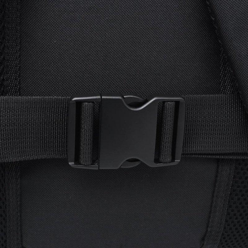 Plecak turystyczny 40 L czarny i szary