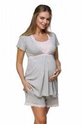 Piżama do karmienia i na ciąże Lupoline 3126