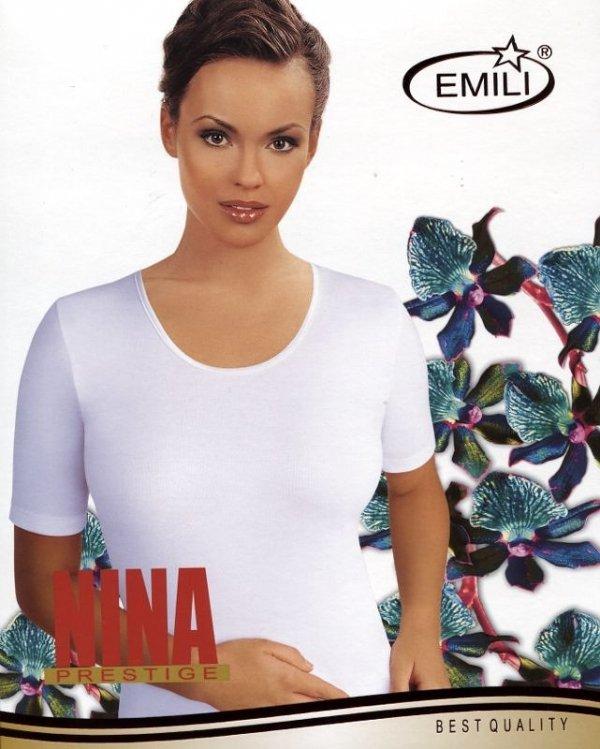 Koszulka Emili Nina biała S-XL